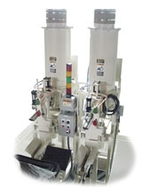 air packer to fill valve bags with powder and granules
