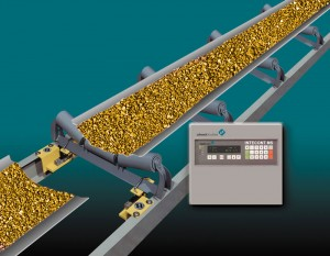 conveyor belt scale for rock sand gravel processing