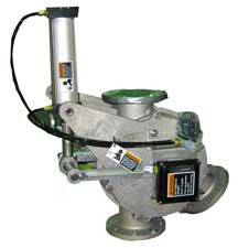 diverter valve for vacuum or pressure conveying system
