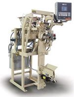 impeller packer fills valve bags without dust